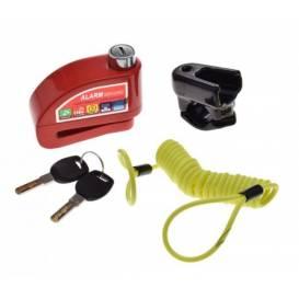 Moto zámok s alarmom (6x54x7)