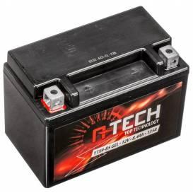 Baterie 12V, YTX9-BS GEL, 8,4Ah, 135A, bezúdržbová GEL technologie 150x87x105, A-TECH (aktivovaná ve výrobě)