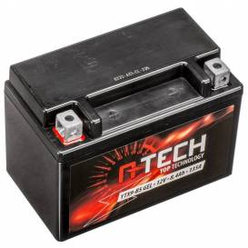 Battery 12V, YTX9-BS GEL, 8.4Ah, 135A, maintenance-free GEL technology 150x87x105, A-TECH (activated in production)