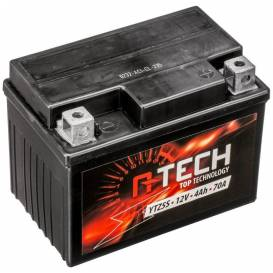 Battery 12V, YTZ5S, 4Ah, 70A, maintenance-free MF AGM 113x70x85, A-TECH (activated in production)