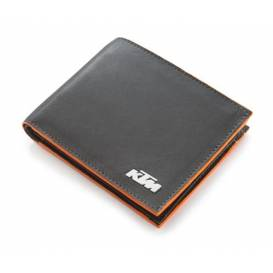 Leather wallet PURE, KTM