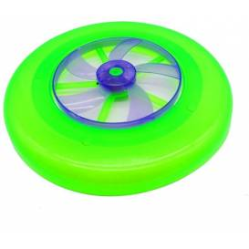 LIGHT UP Frisbee with LED and functional rotor