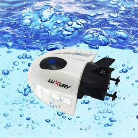 LUXURY WHITE mini boat