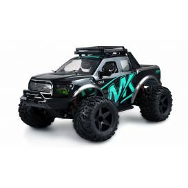 WARRIOR Desert Truck 4WD, 1:10, metal tuning parts, up to 45 km / h, IPx4, RTR, turquoise