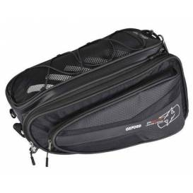 Side bags for motorcycle P60R, OXFORD - England (black, volume 60 l, pair)