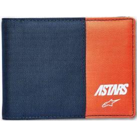 Peněženka MX WALLET, ALPINESTARS (modrá/oranžová)