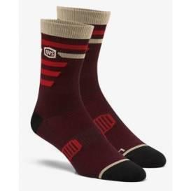 Ponožky ADVOCATE, 100% - USA (vínové/červené)