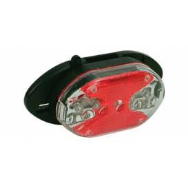 Rear wheel light ULTRATORCH with mounting on the carrier, OXFORD (LED)