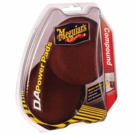 """MEGUIARS DA Compound Power Pads - set of correction discs for orbital polishers and DA Power System, 3 """"/ 75 mm"""