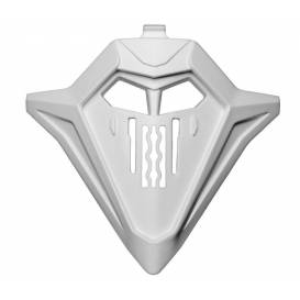 Kryt Bradovci ventilácia pre prilby COMMANDER, AIROH - Taliansko (veľ. L - 2XL, biela)