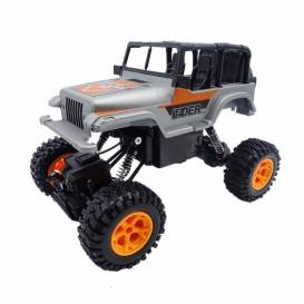 JEEP LEADER AYBY Crawler 4WD, 1:16, 2.4 GHz, RTR, silver