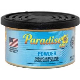 Osvěžovač vzduchu Paradise Air Organic Air Freshener, vůně: Powder