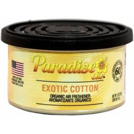 Osvěžovač vzduchu Paradise Air Organic Air Freshener, vůně: Exotic Cotton