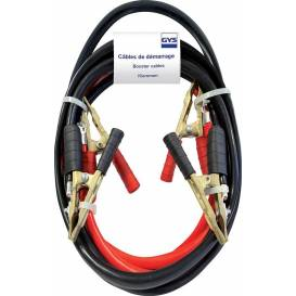 Jumper cables 500 A, brass terminals, length 3 m, cross section 25 mm2 GYS PRO