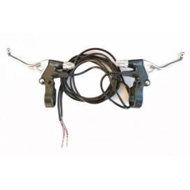 Brzdová páčka L+P chrom X-scooters XT01 36V