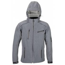 Street softshell jacket SOFT, 4SQUARE - men's (gray)