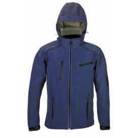 Street softshell jacket SOFT, 4SQUARE - men's (blue)