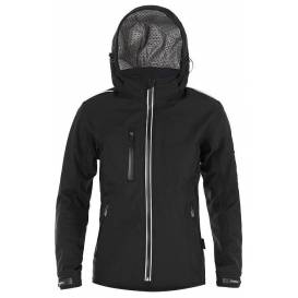 Street softshell jacket SOFT, 4SQUARE - men's (black)