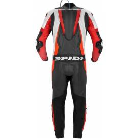 Two-piece jumpsuit SPORT WARRIOR TOURING, SPIDI (black / white / red fluo)