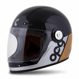 Fiber OPG Helmet, CASSIDA (black / gold / silver)