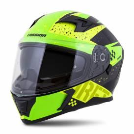 Integral 3.0 DRFT helmet, CASSIDA (yellow pearl / green) plexiglass with preparation for Pinlock