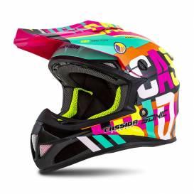 Cross Cup Sonic Junior helmet, CASSIDA, children's (multicolor)