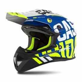 Cross Cup Sonic Junior helmet, CASSIDA, children's (blue matt / yellow fluo)