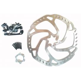 Brake system with disc for motorcycle 80cc 4 stroke