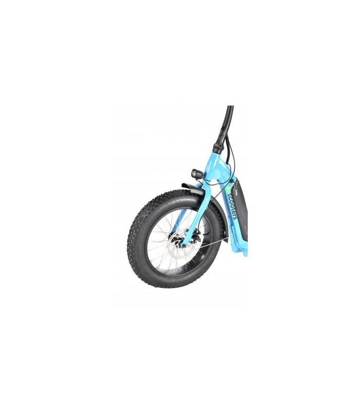 X-scooters XT07 48V Li Modrá