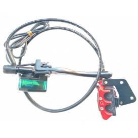 Přední brzdový systém kompletní X-scooters XR09/XR10