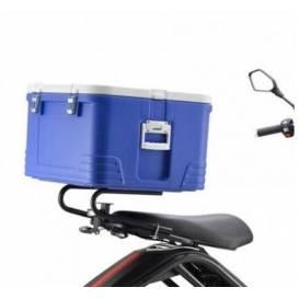 "Zadní ""PIZZA"" termobox X-scooters XR09/XR10 - modrý"