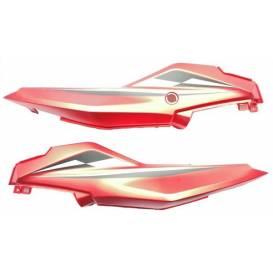 Zadní boční kryty L+P XRS01/XRS02 - červené