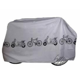 Plachta na bicykel (strieborná) - Veľkosť: XL