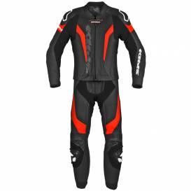 Two-piece jumpsuit LASER TOURING, SPIDI (black / fluo red)
