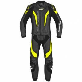 Two-piece jumpsuit LASER TOURING, SPIDI (black / fluo yellow)