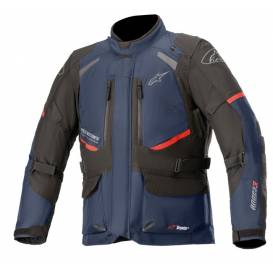 ANDES DRYSTAR 2021 Jacket, TECH-AIR 5 compatible, ALPINESTARS (dark blue / black / red)