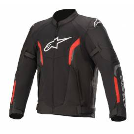 Jacket AST AIR 2021, TECH-AIR 5 compatible, ALPINESTARS (black / red fluo)