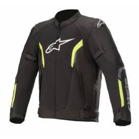 Jacket AST AIR 2021, TECH-AIR 5 compatible, ALPINESTARS (black / yellow fluo)