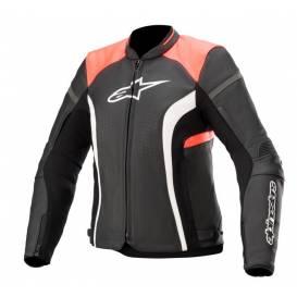 Jacket STELLA KIRA 2021, ALPINESTARS, women's (black / pink fluo)