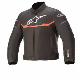 Jacket T-SP S WATERPROOF 2021, ALPINESTARS, kids (black / red fluo)