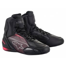 Topánky STELLA FASTER-3 2021, ALPINESTARS, dámske (čierna / strieborná / ružová)