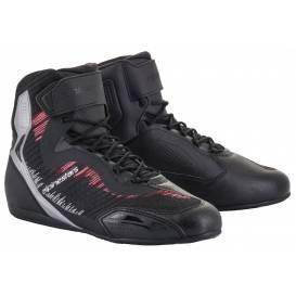 Topánky STELLA FASTER-3 RIDEKNIT 2021, ALPINESTARS, dámske (čierna / strieborná / ružová)