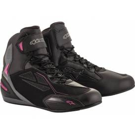 STELLA FASTER-3 DRYSTAR 2021 shoes, ALPINESTARS, women's (black / dark gray / purple)