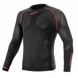 Thermal underwear with long sleeves RIDE TECH SUMMER 2021, ALPINESTARS (black / red)