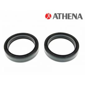 Front fork seals (35x47x10 mm, Marzocchi 35 mm), ATHENA (set for repair of 2 dampers)