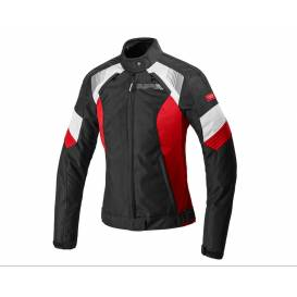Jacket FLASH EVO LADY, SPIDI, women's (black / white / red)