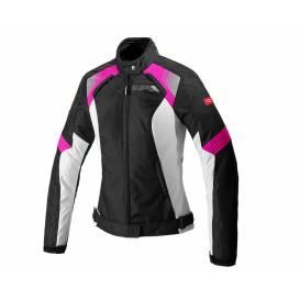 Jacket FLASH EVO LADY, SPIDI, women's (black / pink)