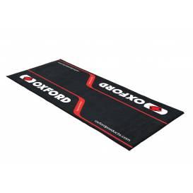 Textilný koberec pod motocykel RACE L, OXFORD (rozmer 200 x 100 cm, spĺňajúce predpisy FIM)