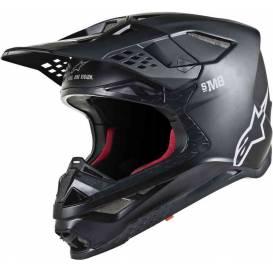 Helmet SUPERTECH S-M8 SOLID 2021, ALPINESTARS (matt black)