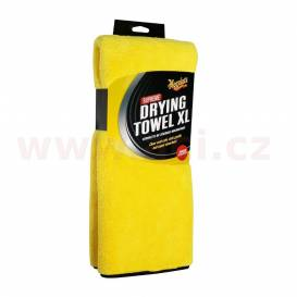 Meguiar's Supreme Drying Towel XL - extra thick and absorbent microfiber drying towel, 85 x 55 cm, 1,050 g / m2
